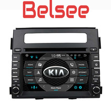 Belsee Octa Core PX5 Ram 4GB Screen Android 8.0 Car Radio GPS Navigation DVD Player Multimedia Head Unit for Kia Soul 2012 2013