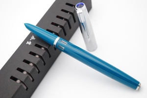 Image 3 - 2019 새 버전 Wing Sung 601 스틸 캡 Vacumatic Double Bead 만년필 인기있는 잉크 펜