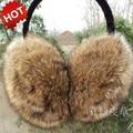 Chegada de novo! 100% rabbite fur earmuffs ouvido cobrir ouvido térmico do inverno do estilo coreano para as mulheres homens multicolor melhor qualidade