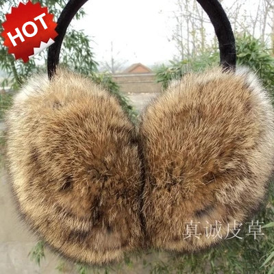 New arrival! 100% rabbite fur earmuffs k