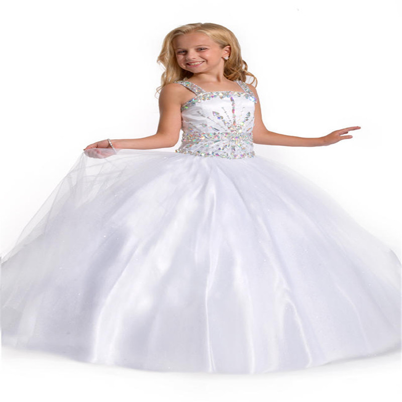 High Quality White Pageant Dresses-Buy Cheap White Pageant Dresses ...