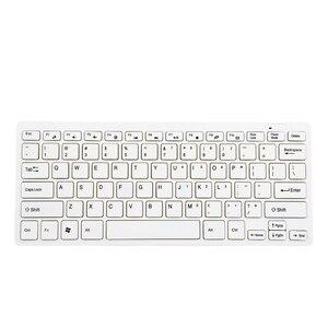 Image 4 - ماوس لاسلكي للوحة المفاتيح 2.4 جيجا هرتز صغير محمول كومبو لأجهزة سامسونج الذكية TV سطح المكتب Win10 ماك أندرويد iOS بالجملة دروبشيبينغ