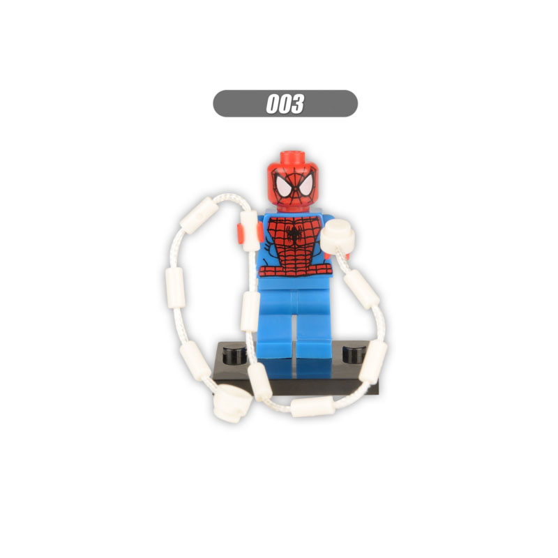 Single Sale Super Heroes Star Wars Spider Gwen Stacy 040 Mini Building Blocks Figure Bricks Toys Gifts Compatible Legoed Ninjaed Blocks