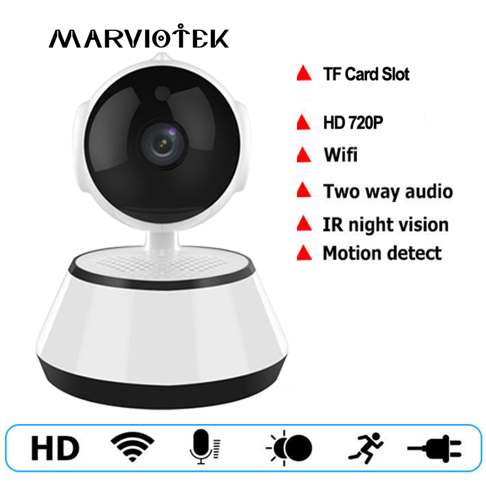 Baby Monitor IP Camera WiFi 720P HD Wireless Smart Baby Camera Audio Record Video Surveillance Camera Home Security night vision giantree recorder hd ip camera 360 degrees baby monitor wireless network camera night vision audio video home surveillance