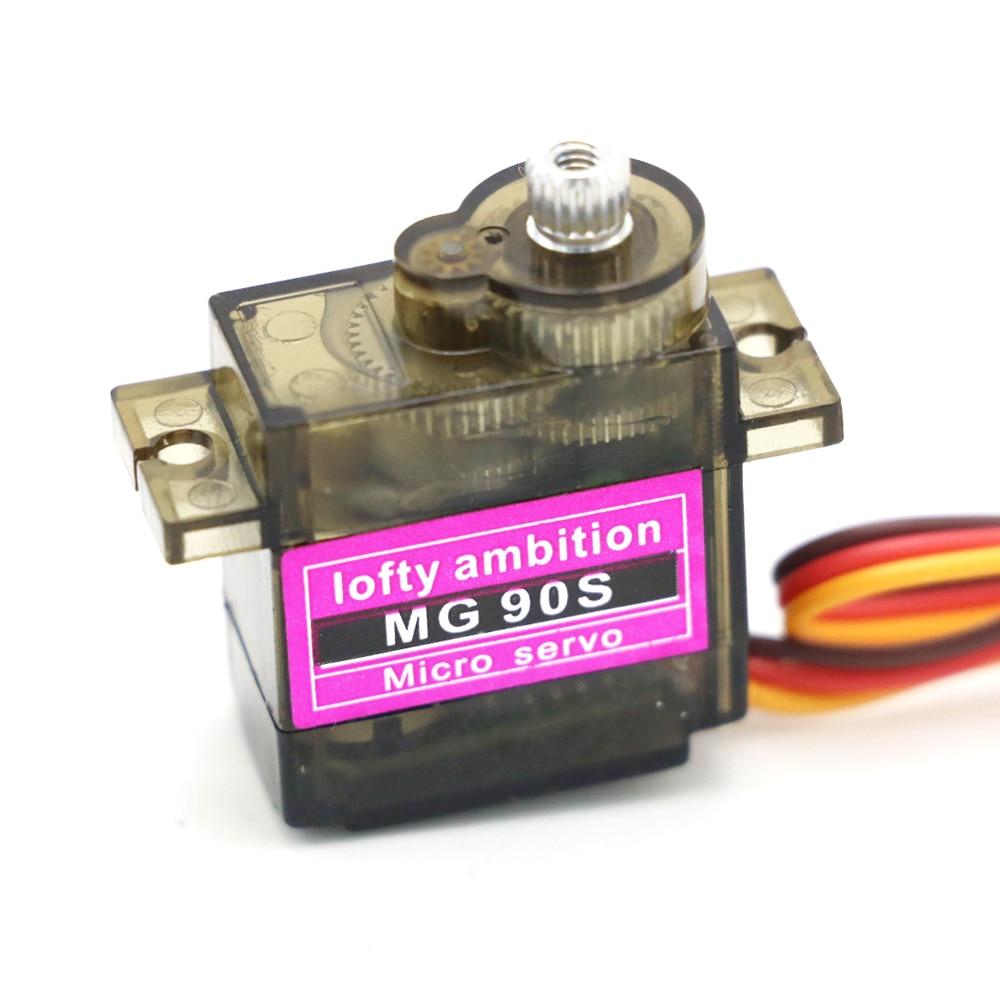 MG90S 9 g METAL GEAR Upgraded SG90 Digital Micro Servos pour Arduino RC avion