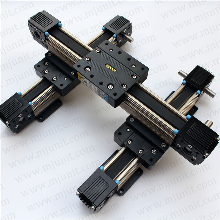 toothed belt drive rail manufacturer 24vdc actuator linear motion slider Motorized XYZ axis Nema 17  23 high speed guideway linear guide rail high precision laser guide actuator la31 toothed belt driven