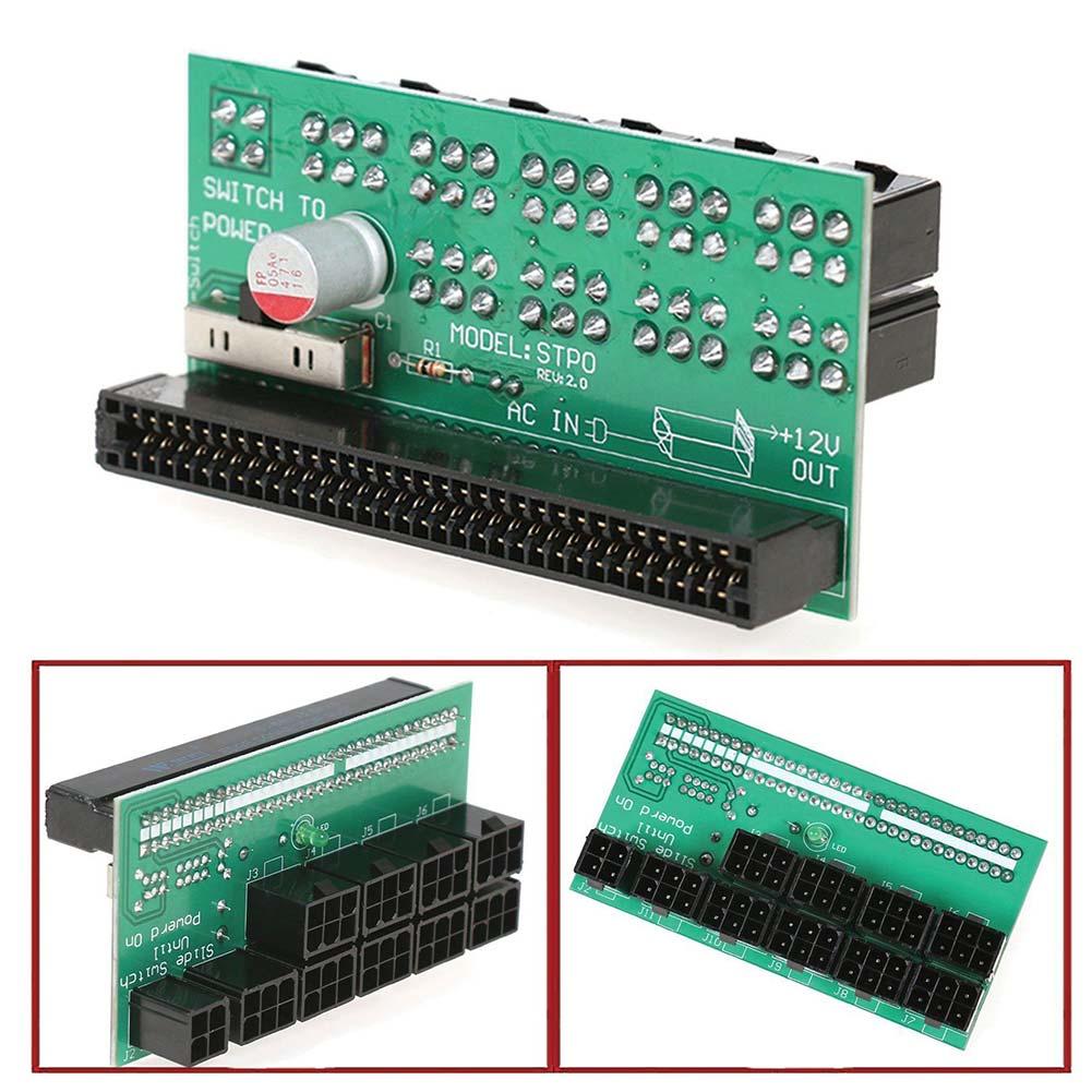 DPS 1200FB 1200QB 800 GB 6 broches Alimentation Sfe Adaptateur Connecteur Du Panneau Pour L'ethereum Minière-M25