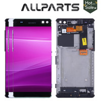 Original 6 0 1920x1080 Display For SONY Xperia C5 LCD Touch Screen Digitizer C5 Ultra Display