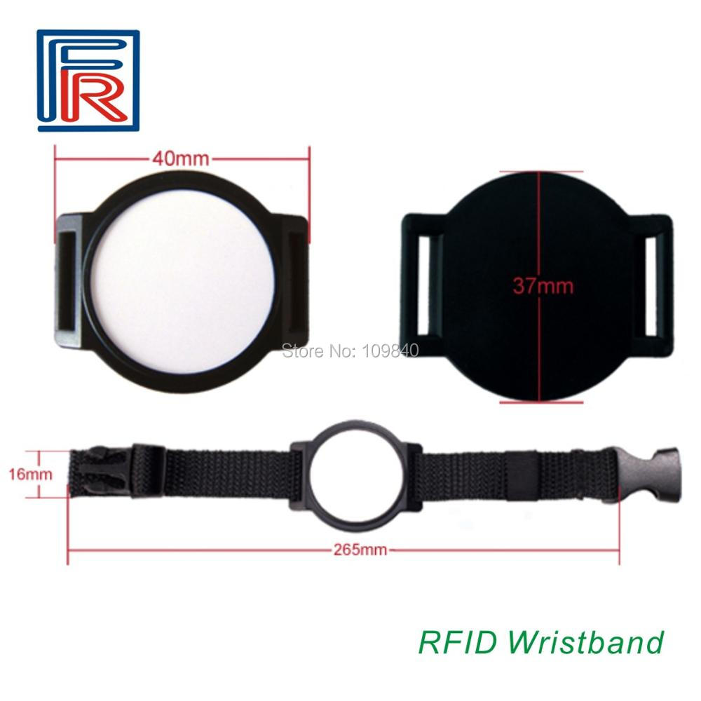 13.56mhz nfc rfid wristband tag bracelet with NTAG203 chip (NTAG213,215,216 available) for NFC phone 1000pcs/lot 1000pcs long range rfid plastic seal tag alien h3 used for waste bin management and gas jar management
