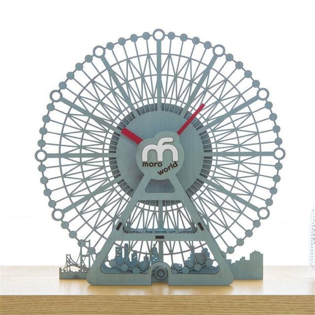 Aliexpress.com : Buy Cartoon Pine Wood Wall Clock Unique Exquisite ...