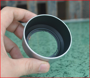 LH-40B бленда объектива для Olympus M. Zuiko Digital 45 мм F1.8 11. 8 линзы Серебристые