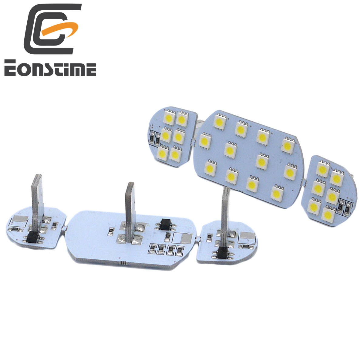 Eonstime 12V 6pcs/set Car Auto <font><b>Led</b></font> Interior Dome Reading <font><b>Light</b></font> Lamp for <font><b>PEUGEOT</b></font> 206 307 <font><b>308</b></font> 3008 408 508 CITROEN C5 image