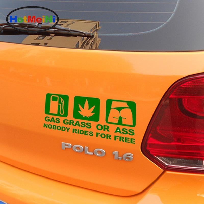 HotMeiNi 16 * 7.5 CM Car Styling GASS GRASS ASS JDM Զվարճալի - Ավտոմեքենայի արտաքին պարագաներ - Լուսանկար 4