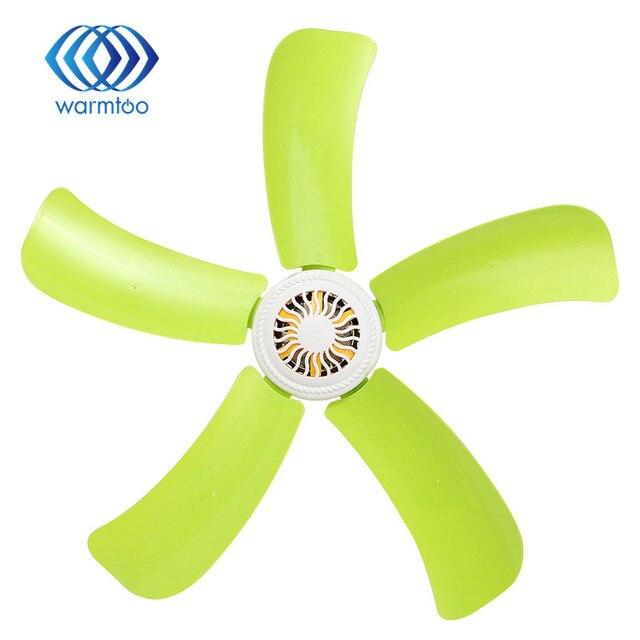 5 Blatt Super Leise Sanfter Wind Mini Deckenventilator Hängen Fan Kleine  Sommer Kühler Kinder Geschenk US