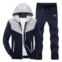 2018 New Male And Female Couple Sportswear Sets MYAZHOU Men S Fashion Plus Size Hooded Sportssuits