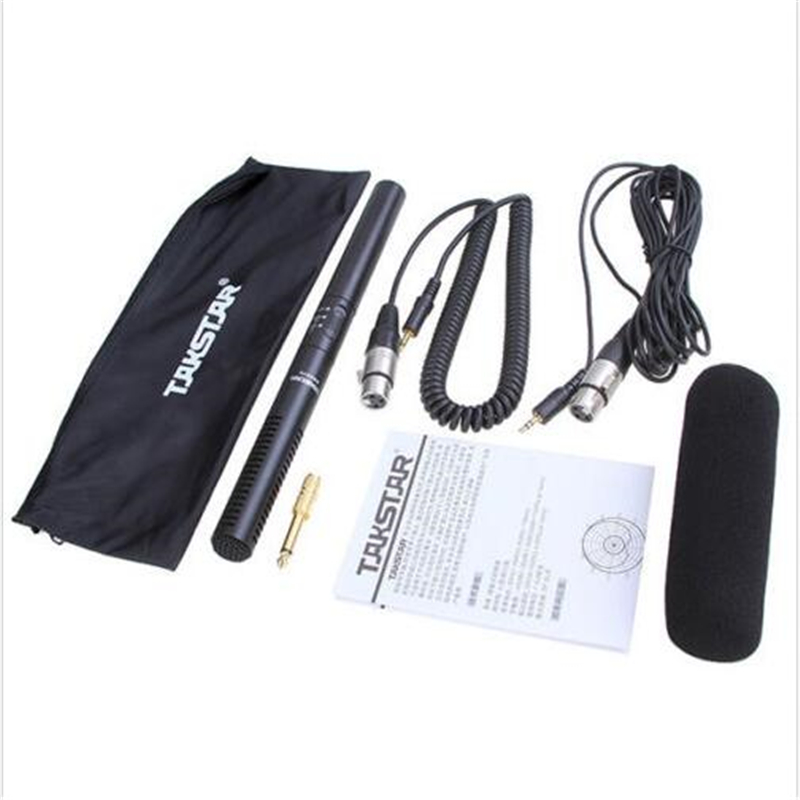ФОТО Takstar SGC 578/SGC-578 High sensitivity Distinct Shotgun Microphone for Speech/interview/conference Camera Camcorder