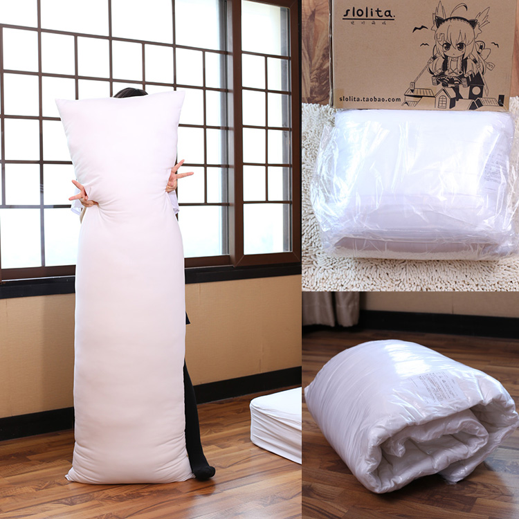 Anime Long Body Hug Hugging Pillow Core Inner Insert Large Pillows PP Cotton Filling Cushion For Adult 160*50cm/35*55cm/45*70cm