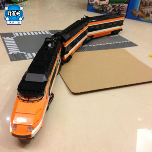 DIY Model  Horizon Express Train 3D Building Bricks Blocks New Year Gift Toys for Children Boy Educational Compatible Lepins hot sale 1000g dynamic amazing diy educational toys no mess indoor magic play sand children toys mars space sand