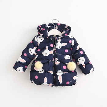 53aa81ef3 W60927066 2016 New Winter Baby Girl Coat Hood Rabbit Toddler Girl Outerwear  Worm Girl Clothes Fashion Bow us$ 29.98/piece