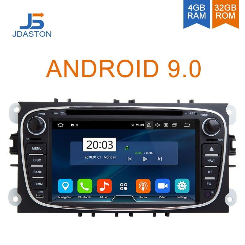 Lecteur DVD de voiture JDASTON Android 9.0 pour Buick Verano Vauxhall Opel Astra J WIFI multimédia GPS stéréo 2 Din autoradio Audio 4 GB