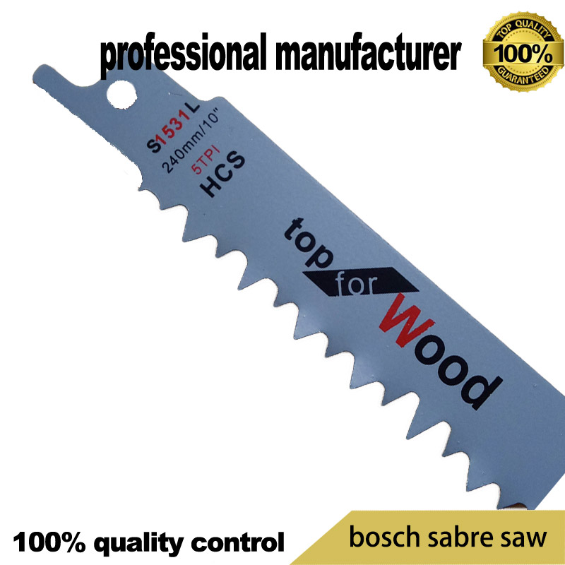3Inch Reciprocating Sabre Saw Blades Reciprocation For Cutting Plastic Pvc 5Pcs