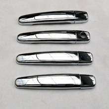 For Peugeot 307 2001 - 2014  Chrome Car Door Handle Cover Trim Styling auto accessories