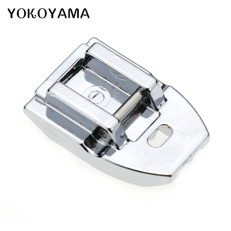 YOKOYAMA Household Sewing Machine Parts Presser Foot Invisible Zipper Foot For Singer Brother Janome Juki Sewing Accessories
