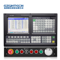cheap good quality similar as gsk CNC lathe controller 3 axis CNC Turning center with ATC and PLC
