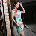New Arrival Chinese Traditional Dress Women Evening Dress Chinese Qipao Dresses Women Qipao Dress Cheongsams Soft Free Shipping