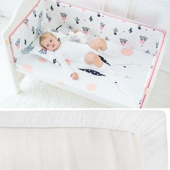 Baby Bed Wieg.Baby Beddengoed Wieg Hoeslaken Puur Katoen Zachte Baby Bed Matras