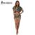 TOP Moda Camuflagem Verde Do Exército 2 Peça Set 2016 Mulheres Casual Sexy Colheita de Manga Batwing Com Capuz Top + Calções Mulheres roupas