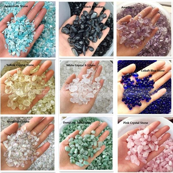 50g Natural White Quartz Pink Crystal Amethyst Amazonite Rock Crystal Stones Lucky A242CL Natural Stones And Minerals