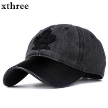 Xthree women baseball cap canada embroidery Letter snapback hat for men cap casquette gorras(China)