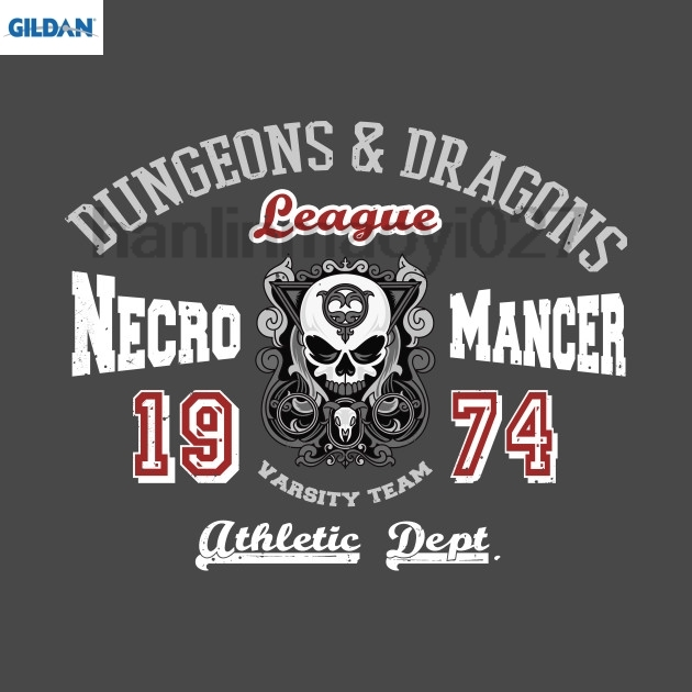 GILDAN Necromancer D&ampD Athletics Dept. T Shirt