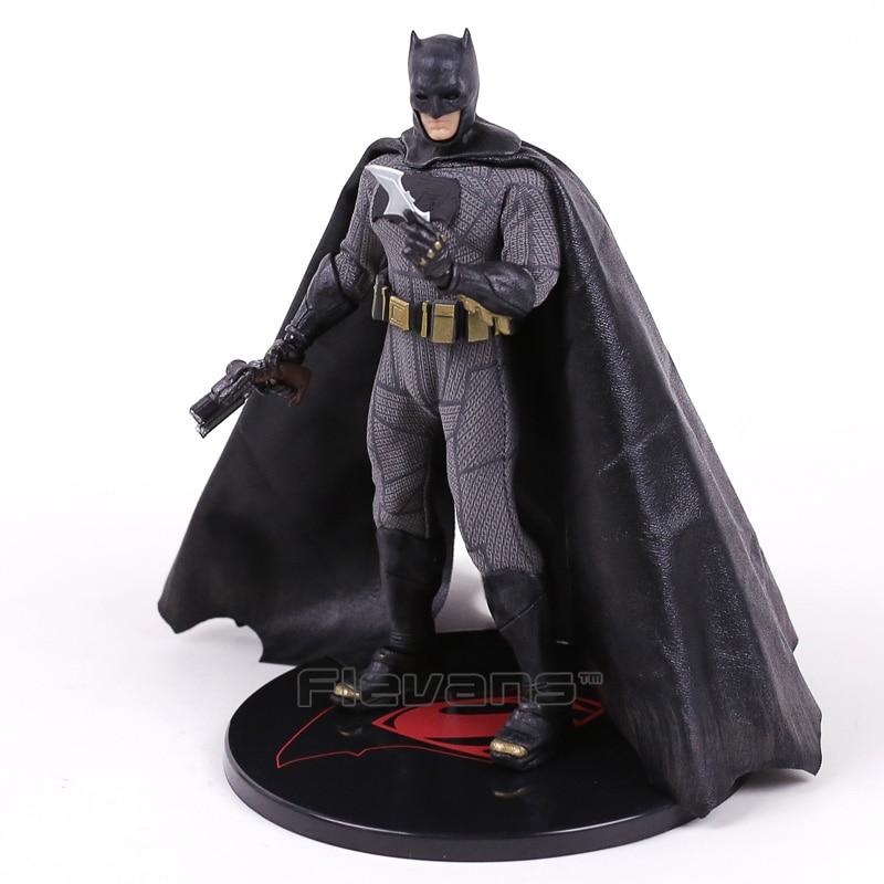 DC Super Hero Batman V Superman Dawn of Justice Batman 1/12 Scale PVC Action Figure Collectible Model Toy 17cm crazy toys batman v superman dawn of justice variant pvc action figure collectible model toy 27cm kt2281