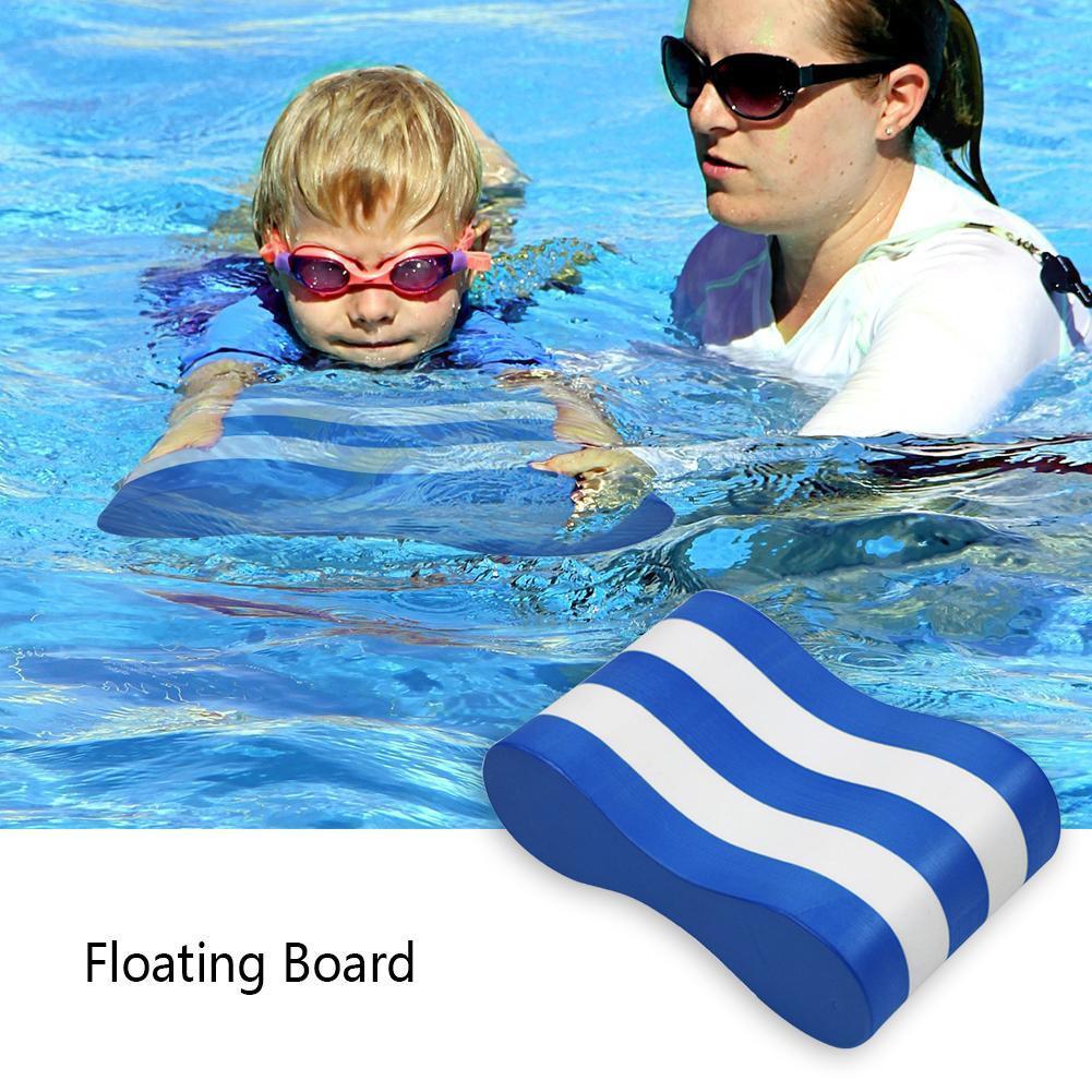 Waterproof Foam Pull Buoy Float Kickboard Kids Adults Pool Swimming Safety Training Aid Anti-vibration Soundproof