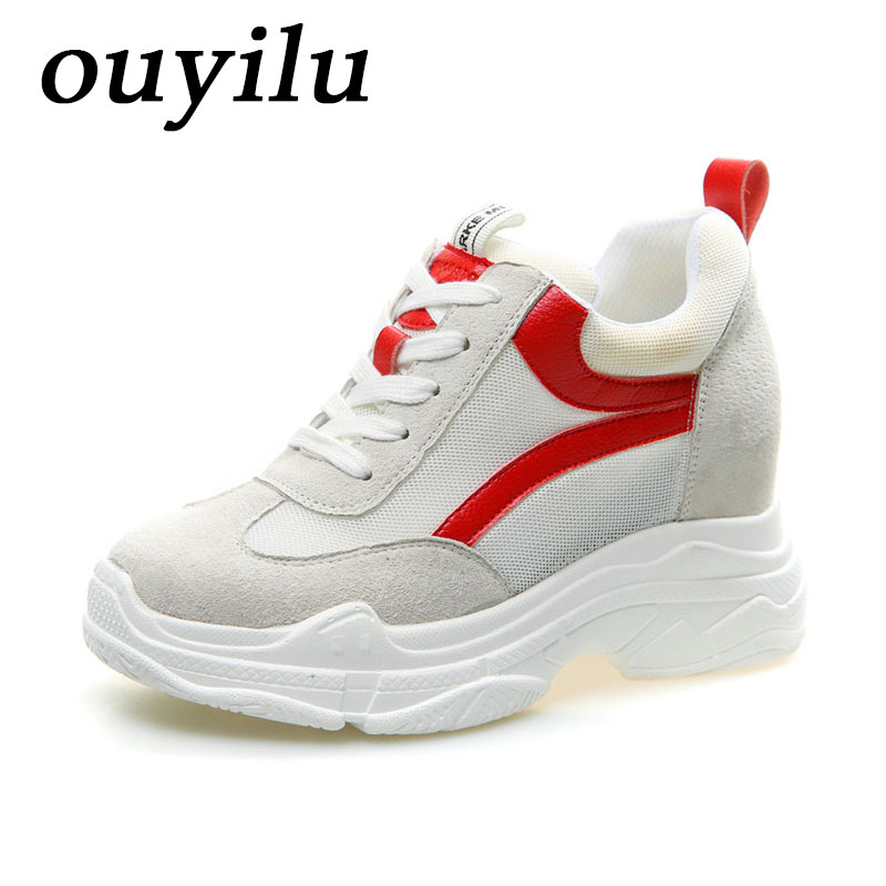 2018 ouyilu Running Shoes Ladies sneakers shoes Womens Sneakers Outdoor jogging Summer Breathable Mesh Dames sneakers schoenen bmai womens running shoes breathable outdoor light athletic sport shoes professional marathon 10km schoenen dames sneakers