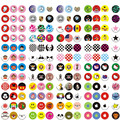 12pcs/lot Color Randomly Cartoon beautiful Home button stickers for iPhone 6s plus 4s 5s iPhone 7 7p protective decoration key