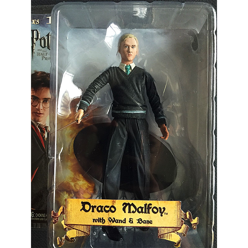 NECA Harry Potter Death Eater Draco Malfoy brand new boxed Action Figure model ornaments 7 inch draco rosa medellin