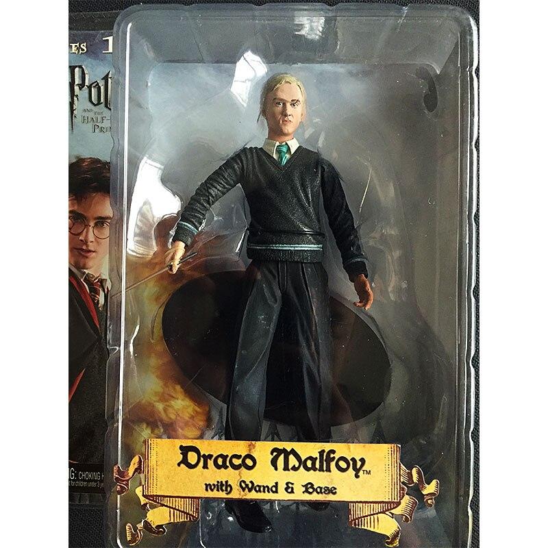 NECA Harry Potter mangeur de mort Draco Malfoy tout nouveau modèle de figurine d'action en boîte ornements 7 pouces