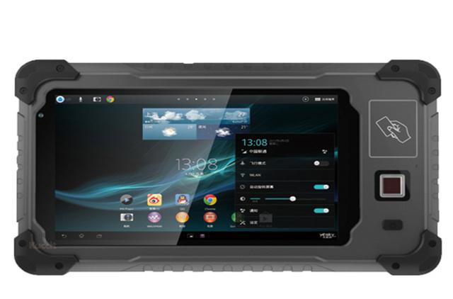 Tablet PC robusta Industrial Láser 2D Escáner de código de Barras portátil A Prueba de Agua Android Smartphone NFC RFID RS232 SUHF Xplore