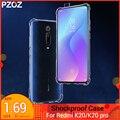 PZOZ For xiaomi Redmi K20 pro case Cover Silicone shockproof Redmi K20 7A Transparent Clear Protective xiaomi mi 8 mi 9t mi a2