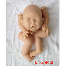 Reborn Doll Kits for 21inches Soft Vinyl Reborn Baby Dolls Accessories for DIY Realistic Toys for