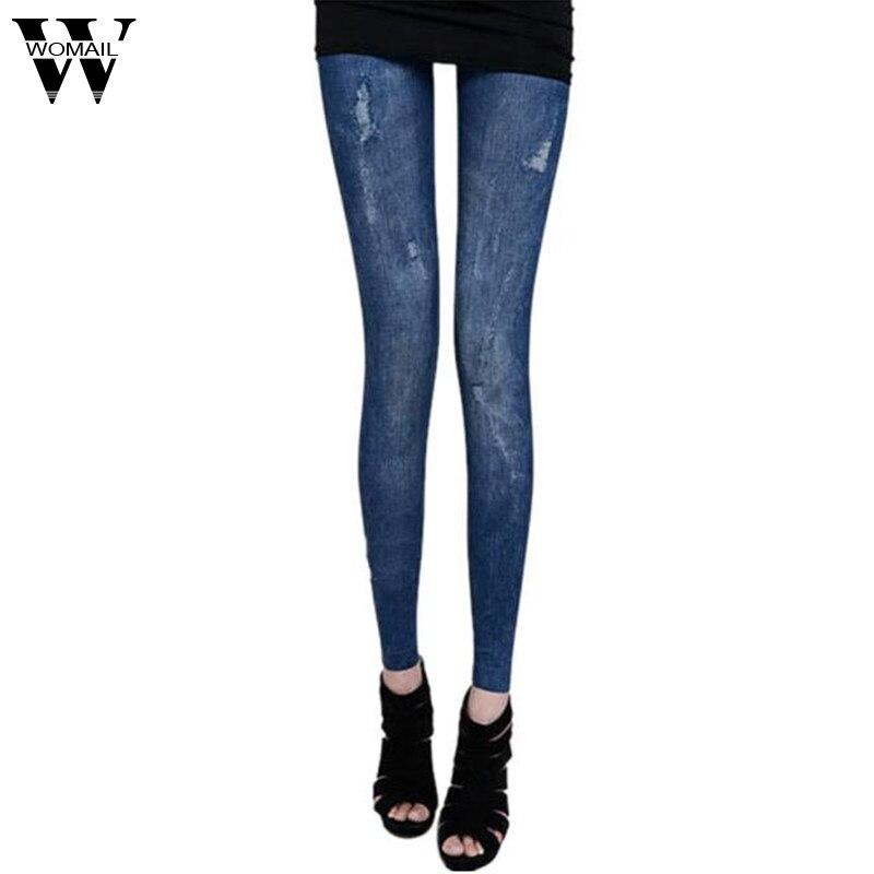 Dec 25 Amazing 2016 New Sexy Women Skinny Jeggings Stretchy Slim   Leggings   Hot Sales