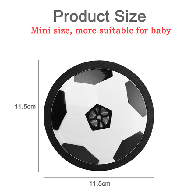 Children Mini Development Toy Ball Toys Hovering Multi-surface Indoor Gliding Air Suspended Football Football Floating Football 3