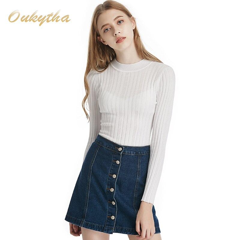 Oukytha Envío Libre Hitz Mujeres de cobertura suéter de manga larga suéter femen