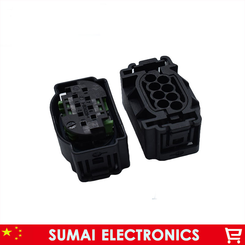 8Pin 4F0 972 708 Auto ACC Radar module plug connector,1-1534229-1 8Pcar sensor plug for BMW,Mercedes-Benz,VW,Audi etc. car