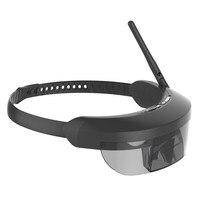 98 дюймов обновления 5,8 Г HDMI IN Монокуляр FPV Goggle Очки виртуальной реальности очки RC Drone AR 40CH FPV один антенны приемника