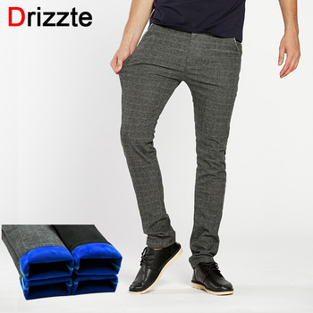 Drizzte Mens Casual Dress Sanded Chino Pants