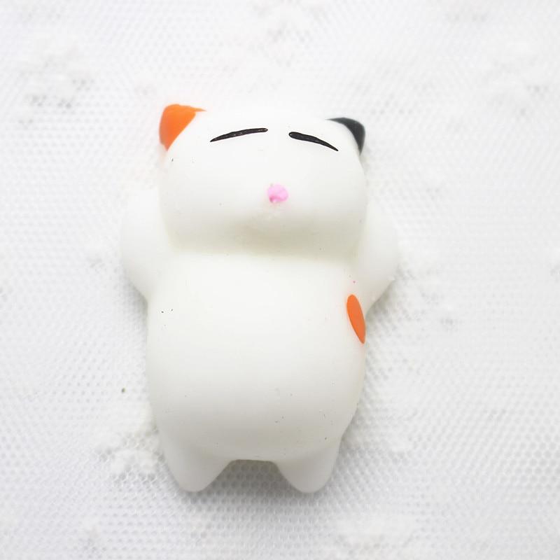 Kawaii Mini Mochi Lazy Neko Squishy Toys 1